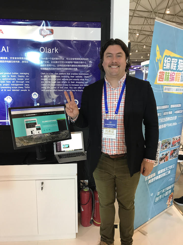 Spend time talking to customers. Karl Pawlewicz of Olark uses live chat software to talk to customers on a regular basis.