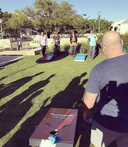 CRO and cornhole have more in common than you might think. Both require you to hit a small target in a wide range of possibilities.