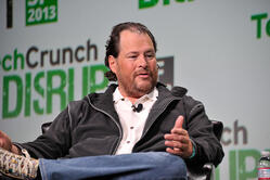 Marc Benioff is the chairman and CEO of Salesforce
