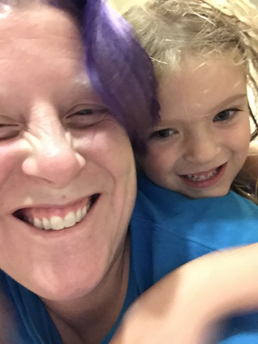 What being a mom taught me about customer service. An image of Barbara and her daughter Zozi.