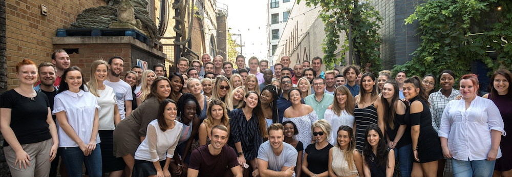 The team at Chillisauce, a UK-based online travel and event management company.