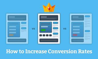 How to increase conversion rates