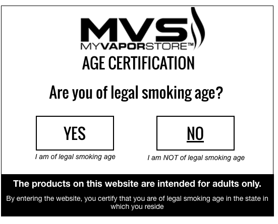 Consider using age verification in your pop up, if your site requires it.