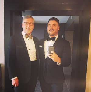 Proud Dad, Groom-to-be, all thanks to great customer service.