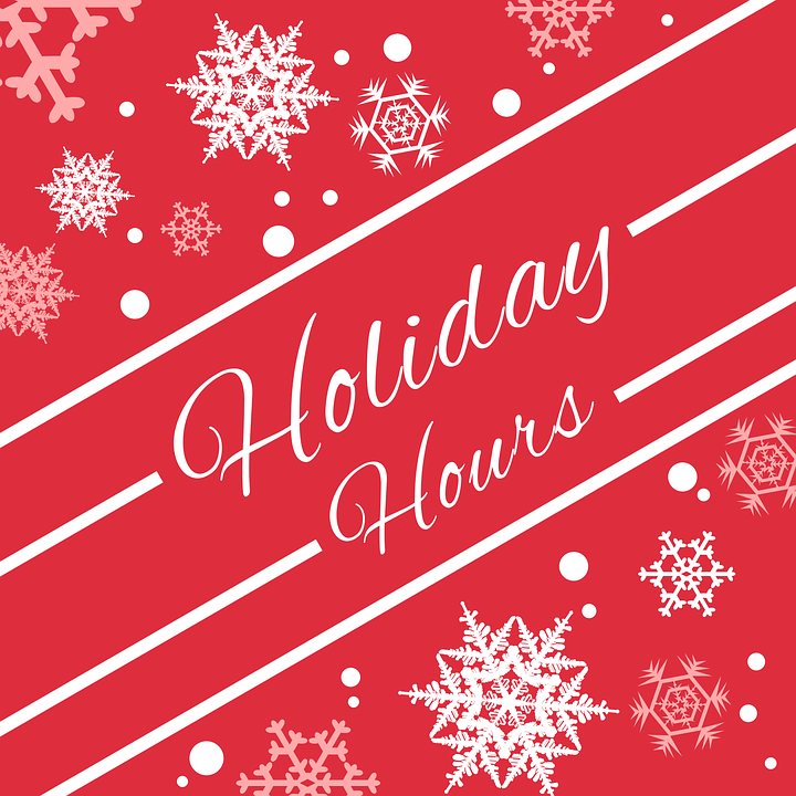 Business owners should reach out to customers proactively ahead of the holiday season to inform them of holiday hours.