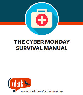 The Cyber Monday Survival Manual by Olark Live Chat