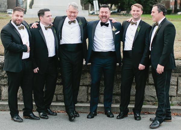 Great cutomer service from The Black Tux helped us schmucks look like a million bucks!
