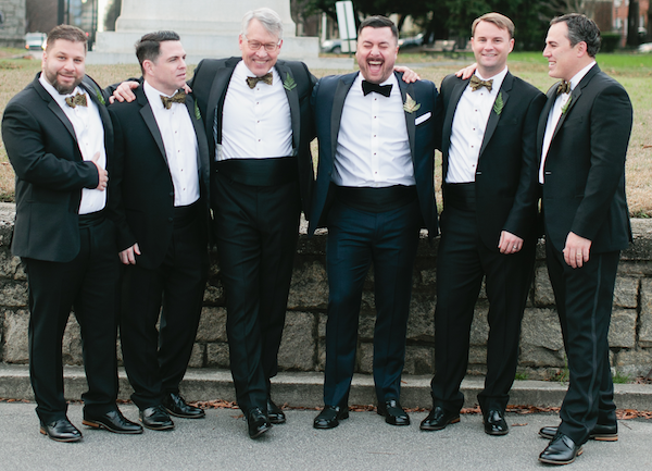 Great cutomer service from The Black Tux helped us schmucks look like a million bucks!