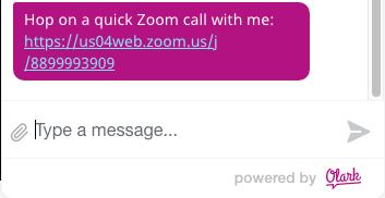 Zoom customer shortcut