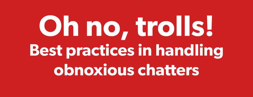 What Would Barbara Do: How do I handle trolls?