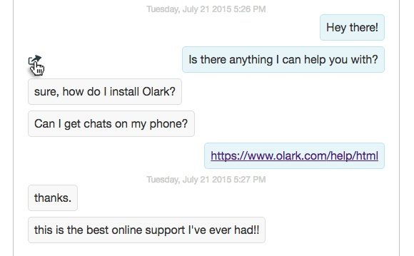 Create canned responses for faster live chat replies