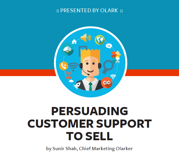 New eBook - Convincing Customer Service to Sell